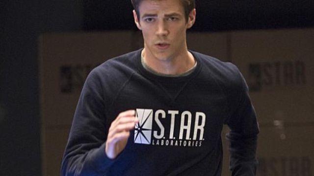 Star Labs Marron Blanc Unisexe à Capuche-STAR Laboratories FLASH-La série TV