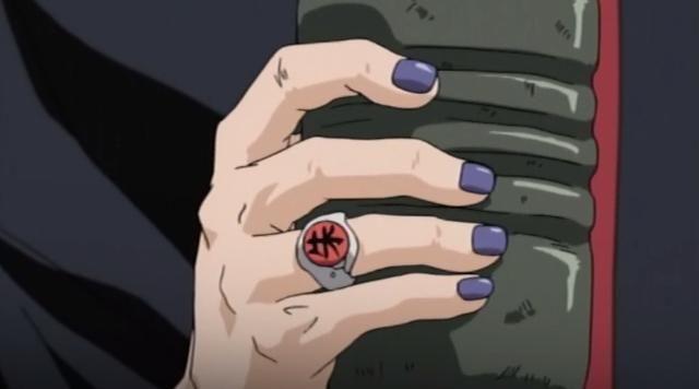 The Rings Of The Akatsuki In Naruto Shippuden Spotern