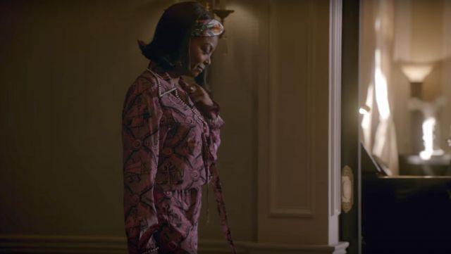 L'ensemble imprimé Gucci de Cookie Lyon (Taraji P. Henson) dans Empire S04E02