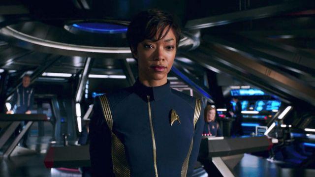 Starfleet Officer's Duty Uniform worn by Michael Burnham (Sonequa Martin-Green) as seen in Star Trek: Discovery S01E01