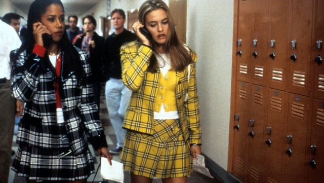 """The whole """"plaid yellow"""" Cherilyn Horowitz (Alicia Silverstone) in Clueless"""