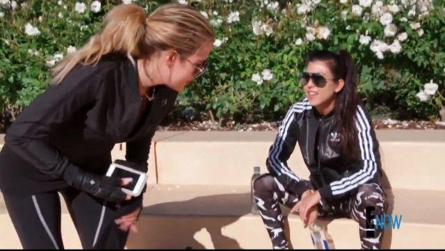 La veste de sport Adidas de Kourtney Kardashian dans L