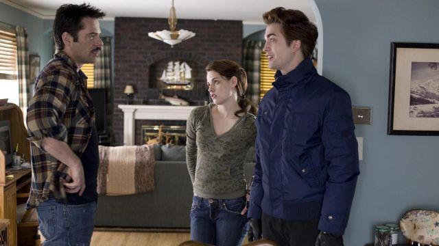 The top hood khaki Bella Swan (Kristen Stewart) in Twilight, chapitre 1 : Fascination