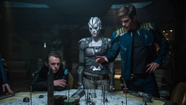 Starfleet Uniform Jacket worn by James Tiberius Kirk (Chris Pine) as seen in Star Trek Beyond