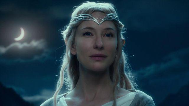 Le diadème de Galadriel (Cate Blanchett) dans Le Hobbit, La Bataille des Cinq Armées
