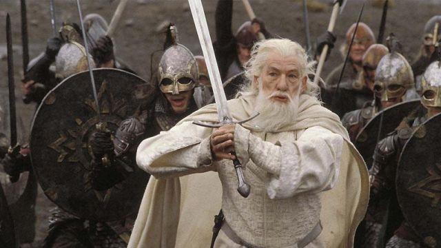 Glamdring Sword of Gandalf (Ian McKellen) as seen in The Hobbit: An Unexpected Journey