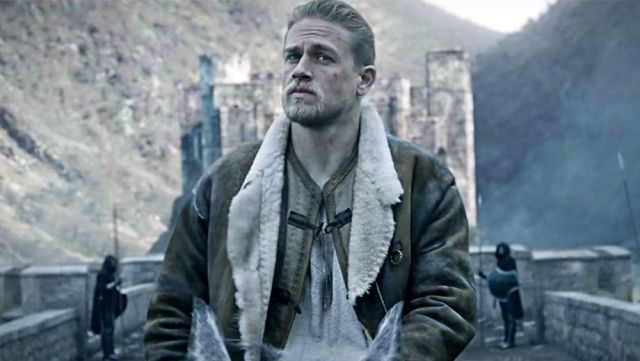 Leather Coat worn by King Arthur (Charlie Hunnam) as seen in King Arthur: Legend Of The Sword