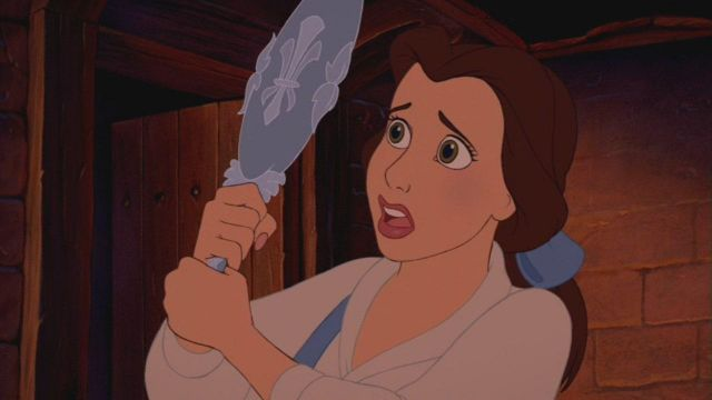 The Replica Of The Mirror Of Belle In Beauty And The Beast Spotern