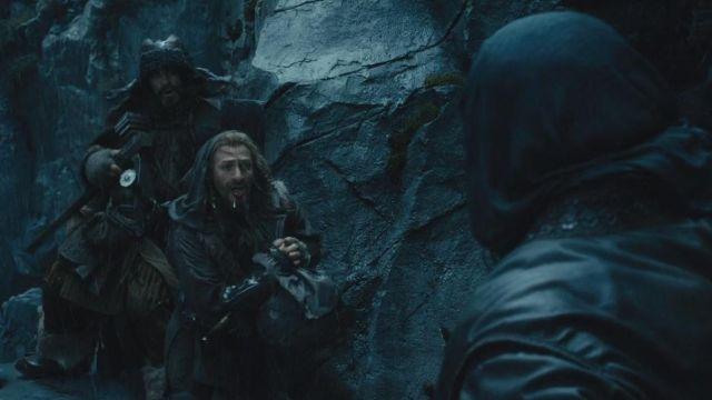 Cuir protections portées par Fili (Dean O'Gorman) dans bilbo Le Hobbit