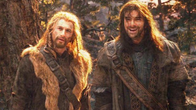 Veste en cuir portés par Kili (Aidan Turner) dans Le Hobbit: Un voyage inattendu
