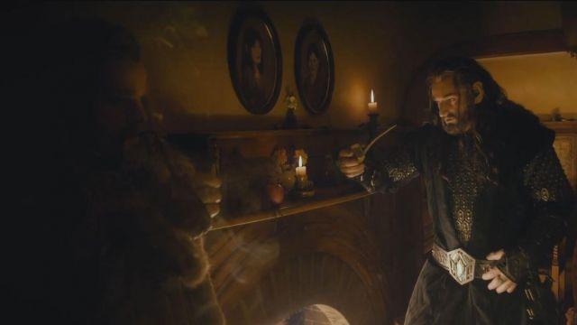 Tabac pipe de Fíli (Dean O'Gorman) dans Le Hobbit: Un voyage inattendu