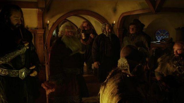 Tabac pipe de Thorin ecu de chêne (Richard Armitage) dans Le Hobbit: Un voyage inattendu