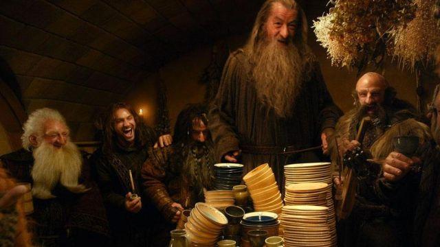 Tabac pipe de Kili (Aidan Turner) dans Le Hobbit: Un voyage inattendu