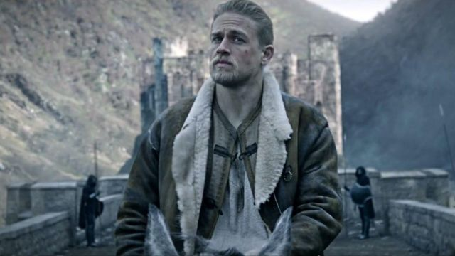 Leather coat worn by Arthur (Charlie Hunnam) as seen in King Arthur: Legend of the Sword