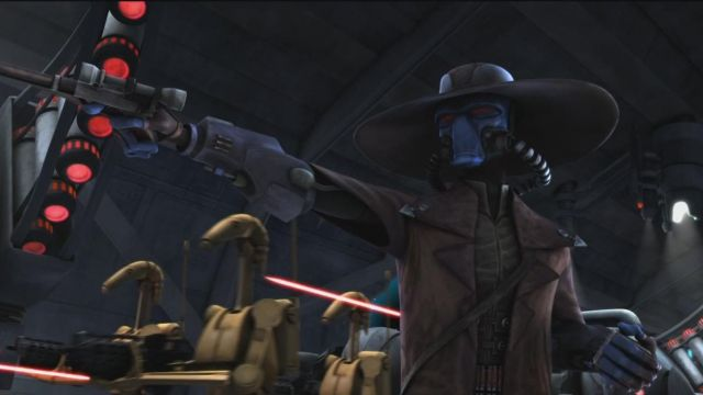 Leather Jacket worn by Cad Bane as seen in Star Wars: Clone Wars vol.1