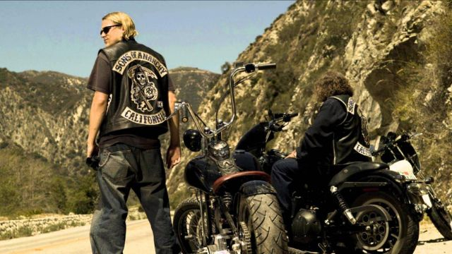 Sons of Anarchy Jacket worn by Jax Teller (Charlie Hunnam) as seen in Sons of Anarchy S01E01