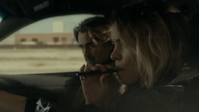 Blu E-cigs used by Antigone Bezzerides / Ani (Rachel McAdams) as seen in True Detective S02E02