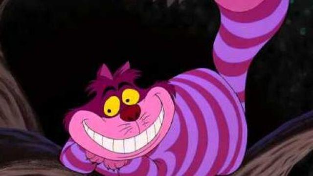 The Replica Plush Of The Cheshire Cat In Alice In Wonderland Spotern