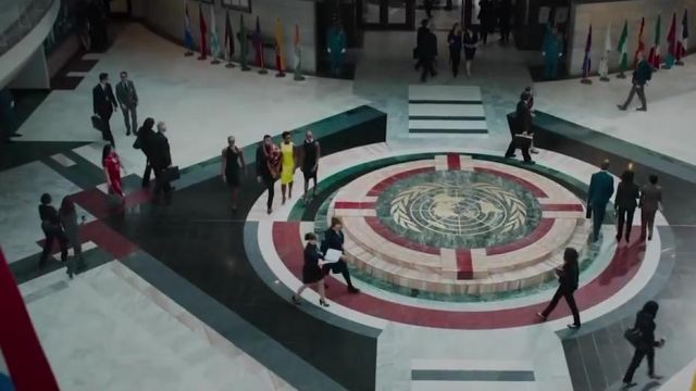 The Atlanta City Hall is hosting the United Nations Organization in the Black Panther