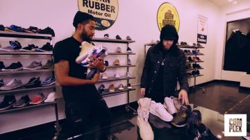 Eminem Goes Sneaker Shopping With