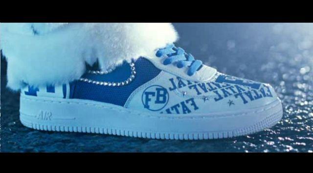 Les Nike Air Force de Fatal Bazooka dans Fatal