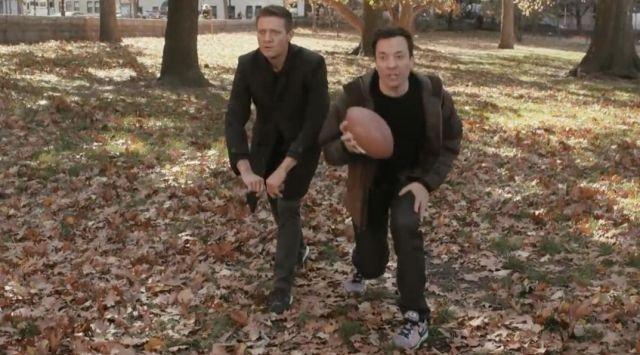 Les chaussures Nike de Jimmy Fallon dans The Tonight Show starring Jimmy Fallon