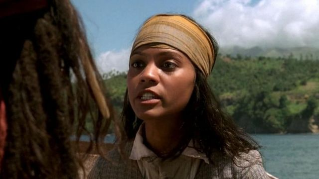 The Scarf Anamaria Zoe Saldana In Pirates Of The Caribbean