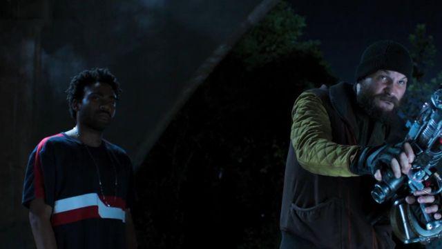 Le t-shirt porté par Aaron Davis (Donald Glover) dans Spider-Man : Homecoming