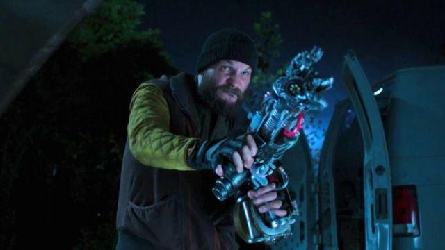 The jacket black and yellow Jackson Brice / Shocker (Logan ...
