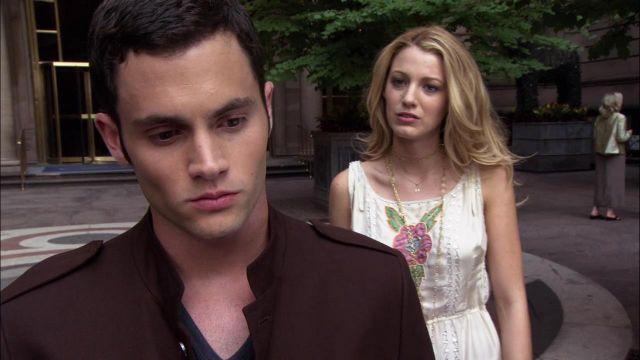 Le collier porté par Serena van der Woodsen (Blake Lively) dans Gossip Girl S01E02