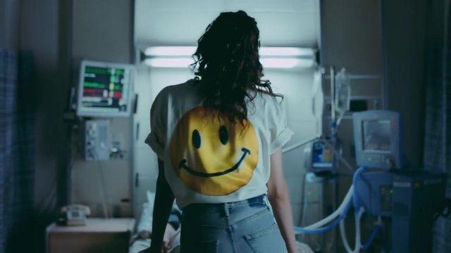 Le t-shirt smiley de Selena Gomez dans le clip It Ain't Me de Kygo & Selena Gomez