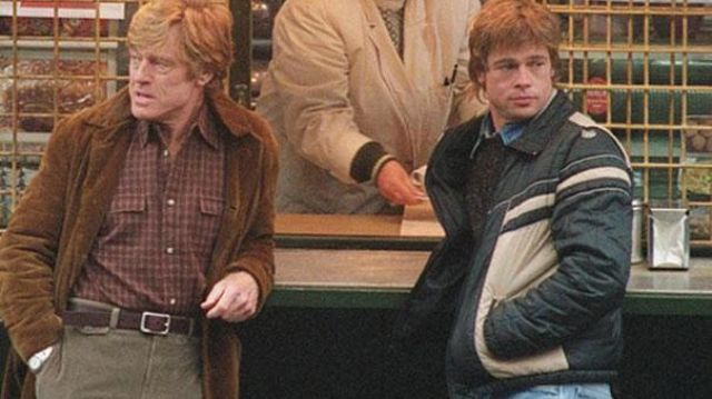 Jacket Down Jacket Of Tom Bishop Brad Pitt Spy Game Game Spy Spotern