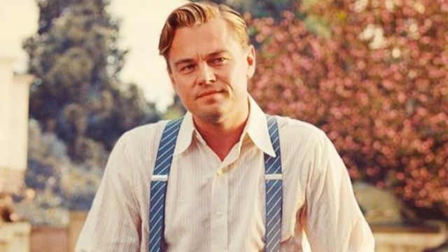 The Straps of Jay Gatsby (Leonardo DiCaprio) in the great Gatsby
