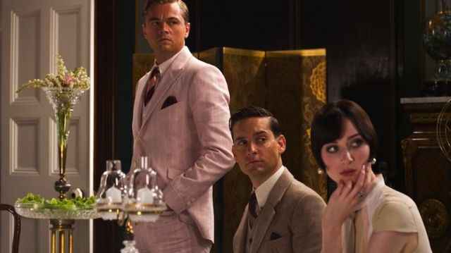 The Pants of Jay Gatsby (Leonardo DiCaprio) in the great Gatsby