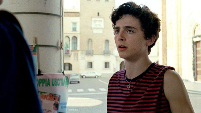 Star of David Necklace of Elio (Timothée Chalamet) in Call Me by Your Name