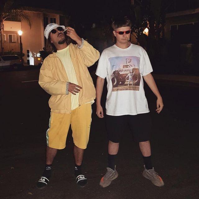 La veste beige de Lorenzo sur le compte Instagram de @el_larrygarcia