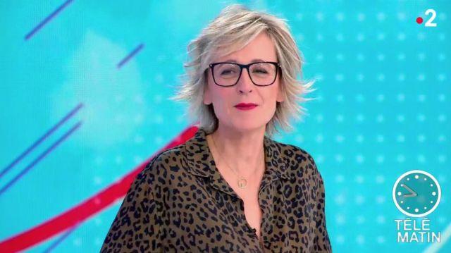 Le Du Adigard Chemisier Novembre Sylvie Imprimé De 20 Dans Télématin eCrdoxB