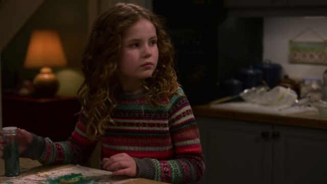 Christmas Chronicles Kate.Sweater Worn By Kate Darby Camp As Seen In The Christmas