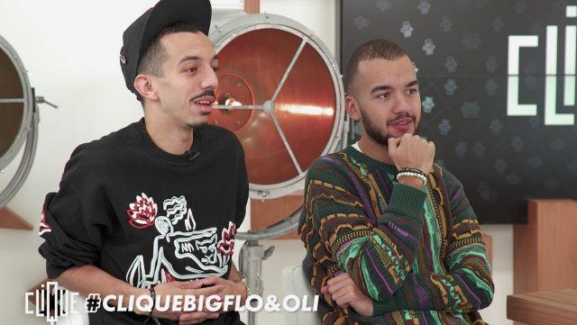 Le pull porté par Oli dans l'émission Clique avec Bogflo & Oli du 20 décembre 2018
