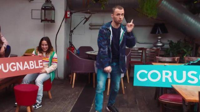 La veste portée par Squeezie dans sa vidéo FREESTYLE DE TWITTER feat. Bigflo & Oli
