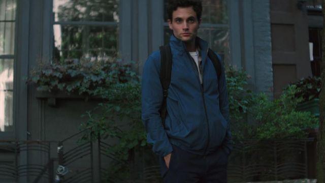 Bomber jacket worn by Joe Goldberg (Penn Badgley) as seen in YOU S01E02