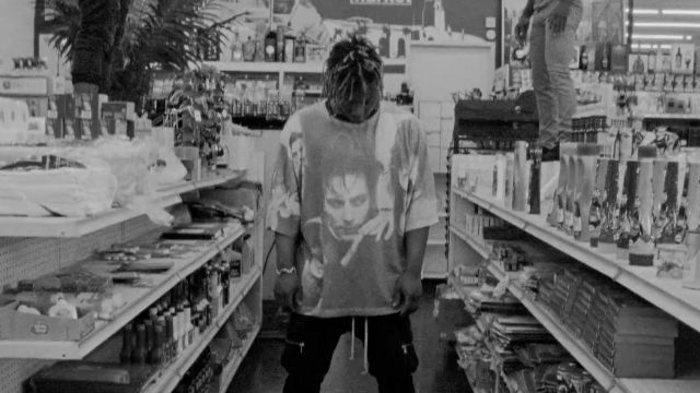 T-shirt worn by Juice Wrld in his Lean Wit Me Music Video