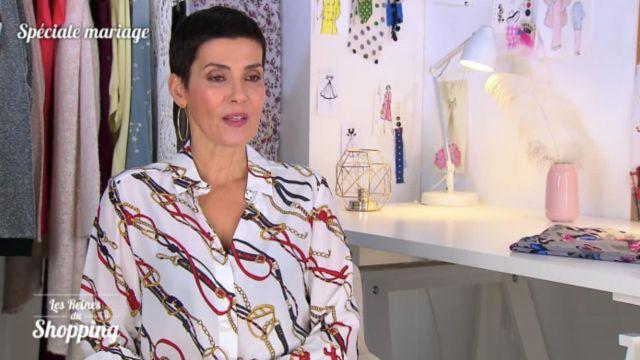 La chemise imprimée de Cristina Córdula dans Les reines du shopping