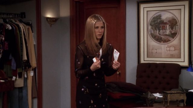ne Chandler et Rachel jamais brancher