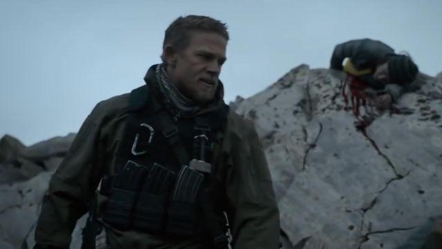 """Veste portée par William """" Ironhead Miller (Charlie Hunnam) comme on le voit dans la Triple Frontière"""