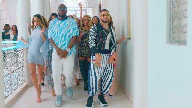 La tenue portée par Maluma dans son clip Hola Señorita (Maria) avec Gims
