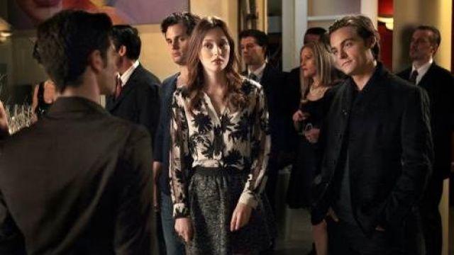 Shirt worn by Blair Waldorf (Leighton Meester) as seen in Gossip Girl S04E11