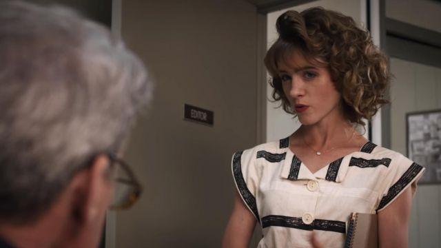 Necklace worn by Nancy Wheeler (Natalia Dyer) as seen in Stranger Things (S03E02)