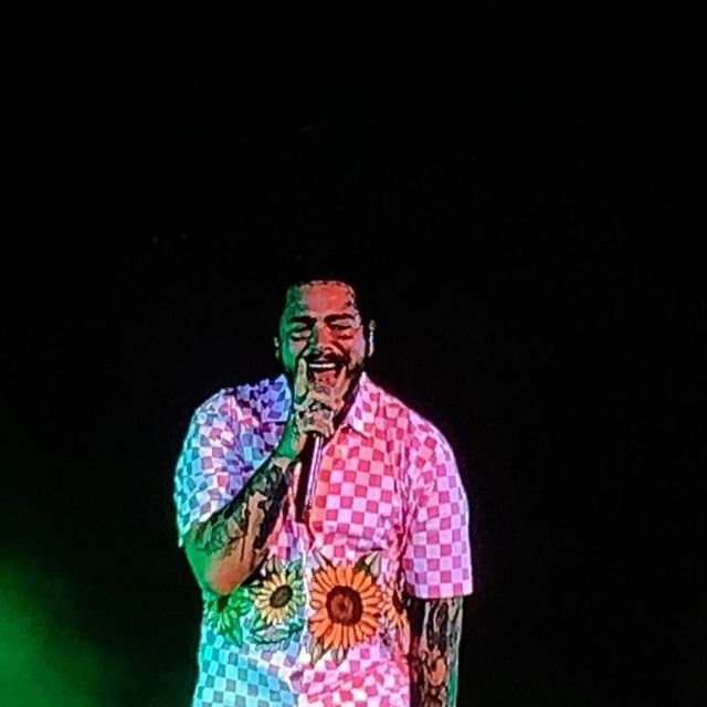 Shirt worn by Post Malone for his live performance at Cheyenne Frontier Days Festival 2019