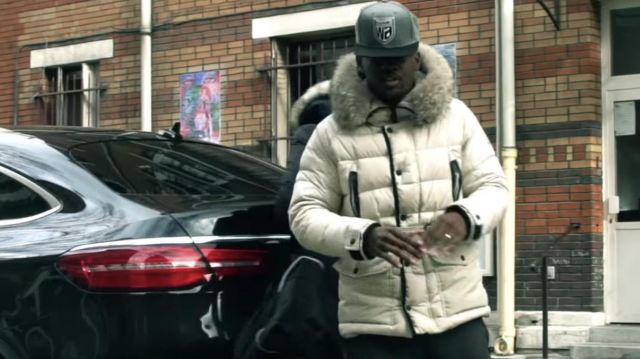 Down Jacket worn by Black M in his A l'ouest (Street Video) feat. MHD